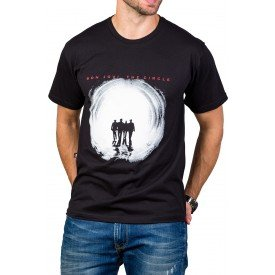 Camiseta Bon Jovi The Circle c/ Reforço 444 M Preto 3