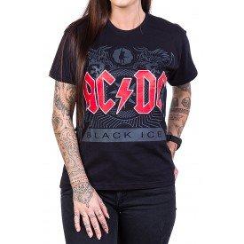 Camiseta AC/DC Black Ice Manga Curta 429 F Preto 3