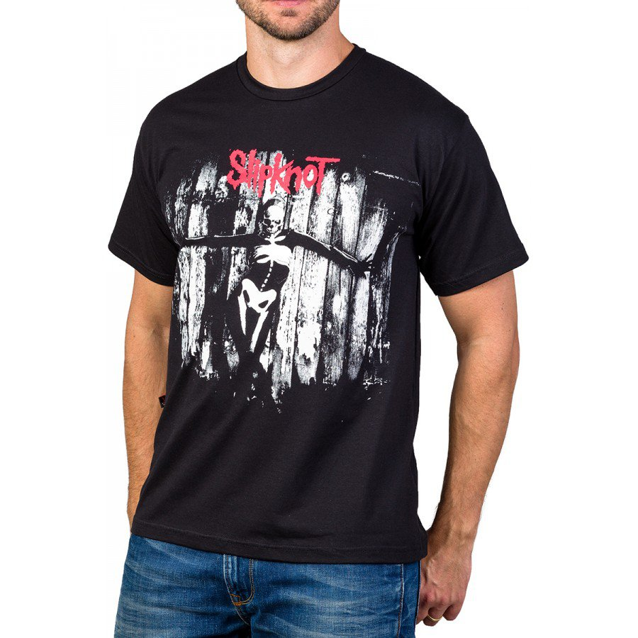 Camiseta Slipknot The Gray Chapter Preta