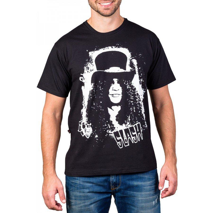 Camiseta Guns n' Roses Slash Bandalheira