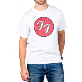 Camiseta Foo Fighters Álbum Greatest Hits Branca