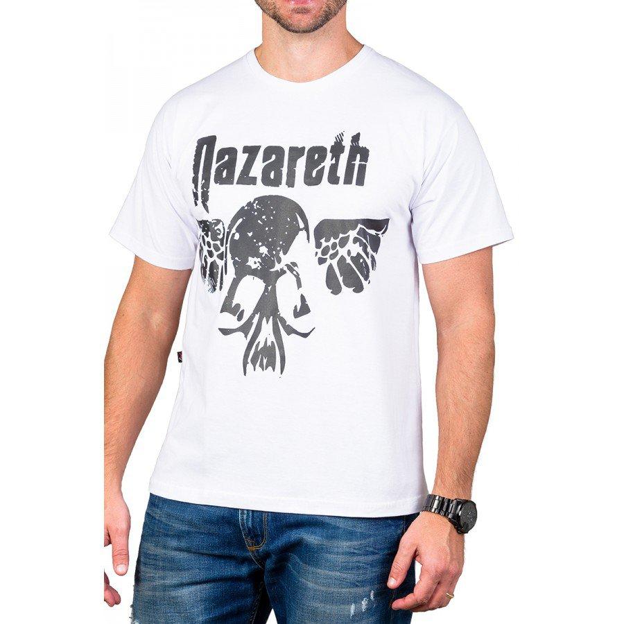 Camiseta Nazareth Logo 100% Algodão