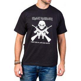 Camiseta Iron Maiden Caveira Bandalhera 1