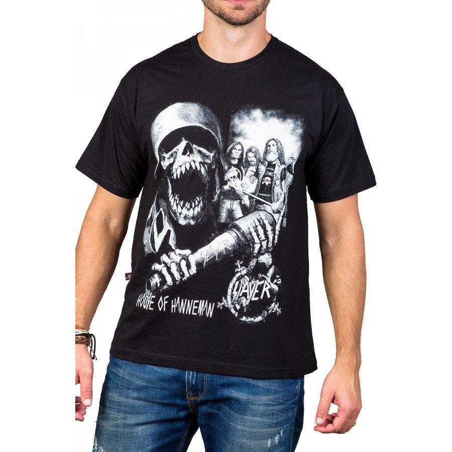 Camiseta Slayer House Of Hanneman Preta