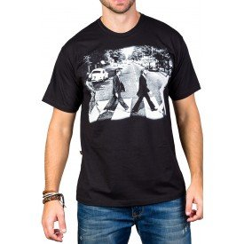 Camiseta The Beatles Abbey Road Gola Redonda