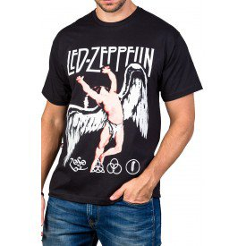 Camiseta Led Zeppelin Apolo - Anjo 100% Algodão