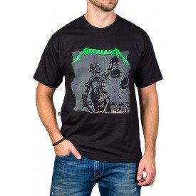 Camiseta Metallica And Justice for All 100% Algodão