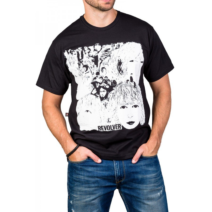 Camiseta The Beatles Revolver Bandalheira