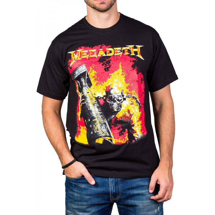 Camisetas Megadeth Arsenal 100% Algodão