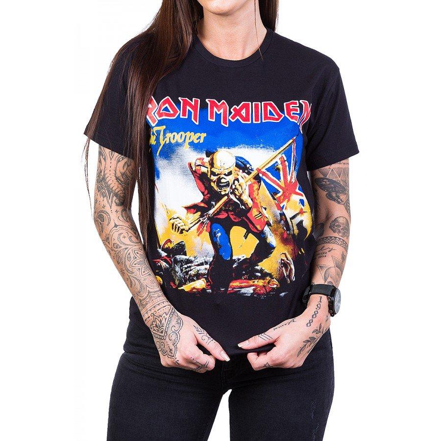 Camiseta Iron Maiden The Trooper Colorida
