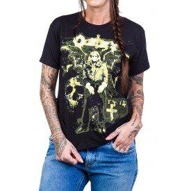 Camiseta Black Sabbath Ozzy Osbourne Preta 1