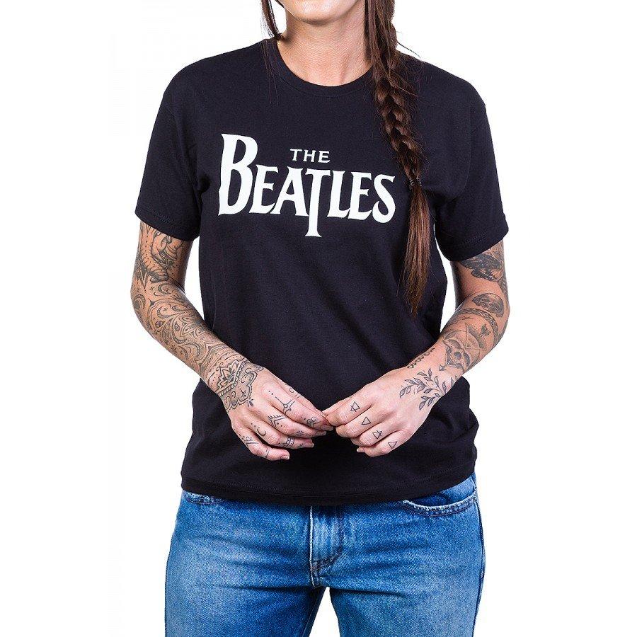 Camiseta The Beatles Escrita 100% Algodão338 the beatles p 1