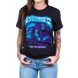 Camiseta Metallica Ride The Lightning Rock n' Roll