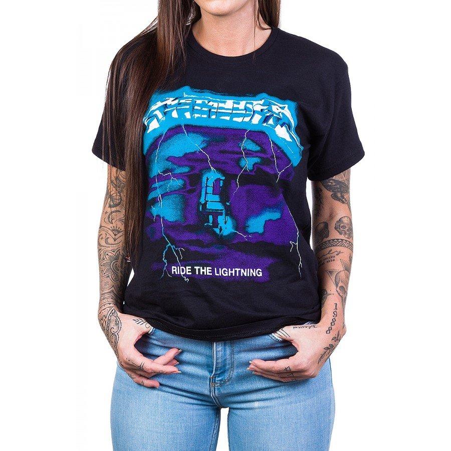 Camiseta Metallica Ride The Lightning Rock n' Roll