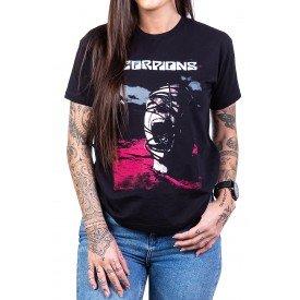 Camiseta Scorpions Acoustica Cabeça Enrolada 404 scorpions p 1