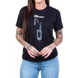 Camiseta Foo Fighters Echoes, Silence, Patience & Grace Feminina 2