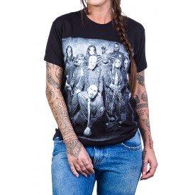 Camiseta Slipknot Foto Branca Bandalheira2531 slipknot p 1