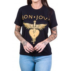 Camiseta Bon Jovi Greatest Hits Bandalheira 1