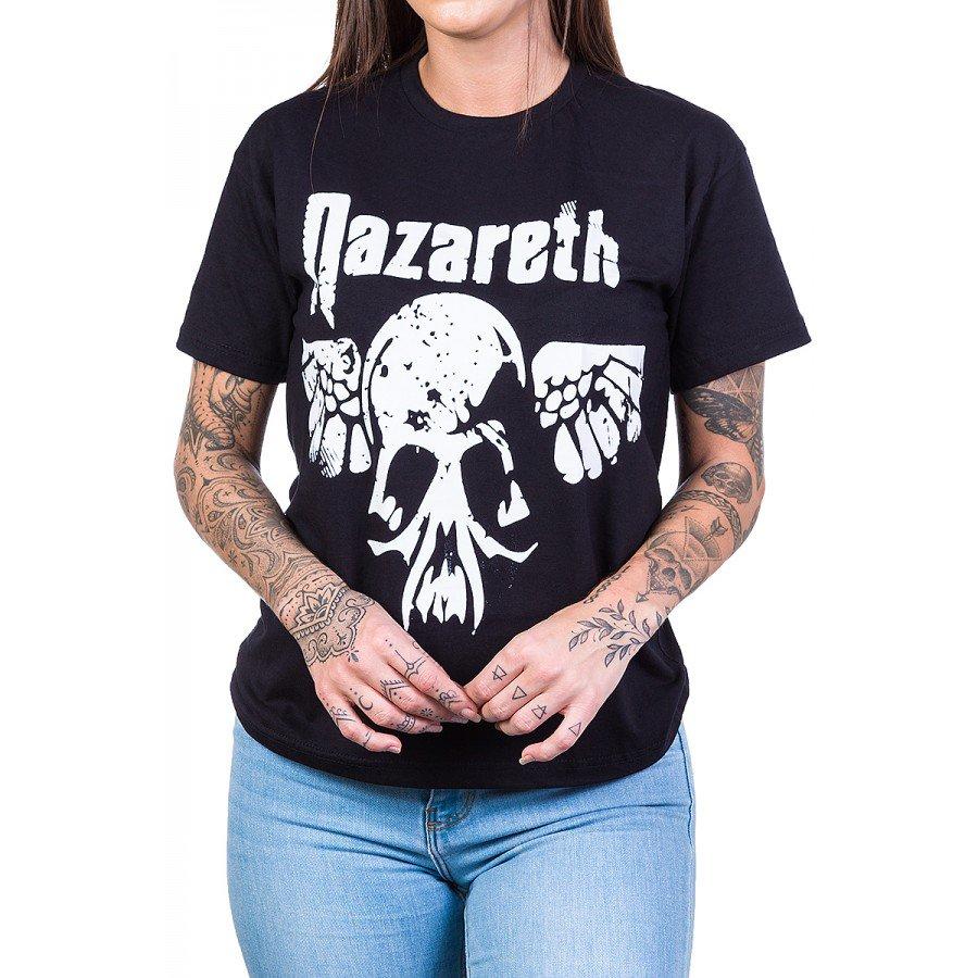 Camiseta Nazareth Logo c/ Estampa Frente e Costas
