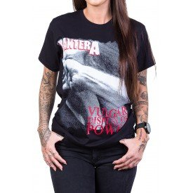 Camiseta Pantera Vulgar Display of Power Estampada