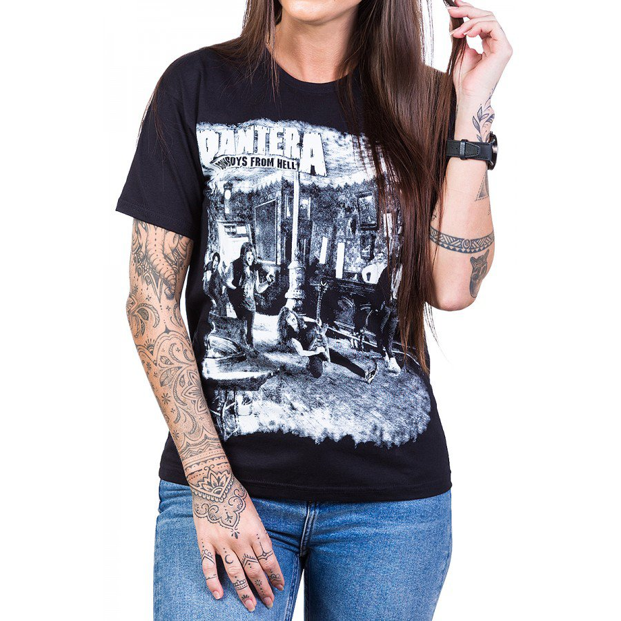 Camiseta Pantera Cowboys From Hell Feminina