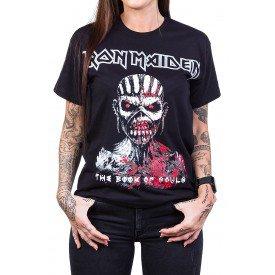 Camiseta Iron Maiden The Book of Souls Preta