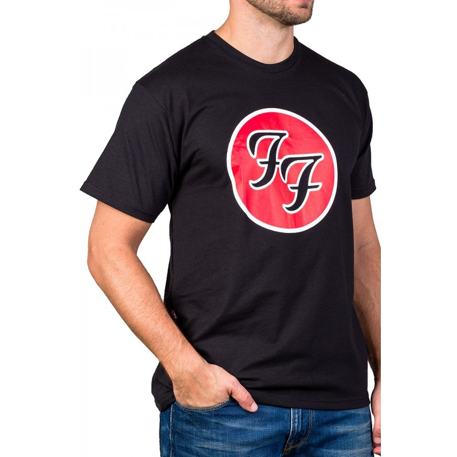 Camiseta Foo Fighters Álbum Greatest Hits Preta