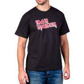 Camiseta Iron Maiden Preta