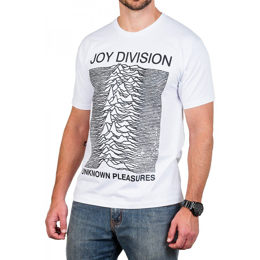 camiseta joy division unknown pleasures branca 2805 1