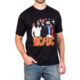 camiseta acdc highway to hell c gola redonda 357 4