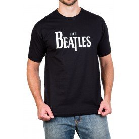 camiseta the beatles escrita 100 algodao 338 1