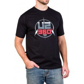 camiseta u2 360 tour stage 100 algodao 488 3