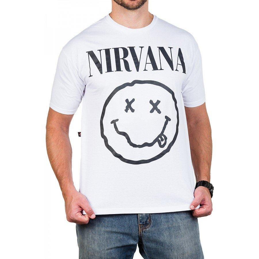 camiseta nirvana smiley gola redonda 162 4