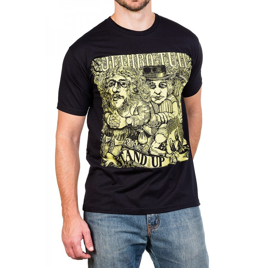 camiseta jethro tull stand up preta 2577 3