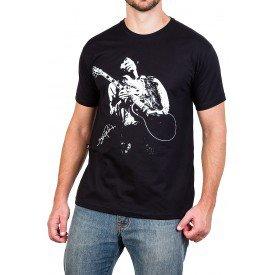 camiseta jimi hendrix guitarra masculina 425 3