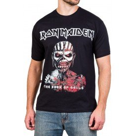 camiseta iron maiden the book of souls preta 2849 4