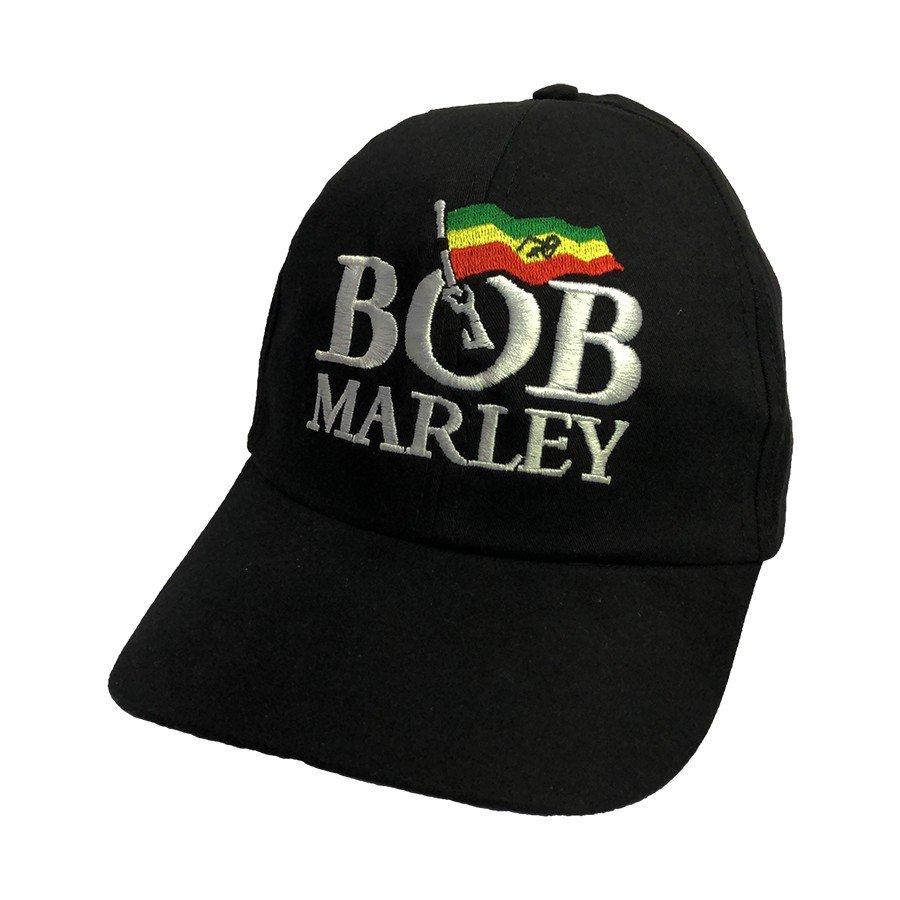 bone bob marley bandeira aba curva bn68