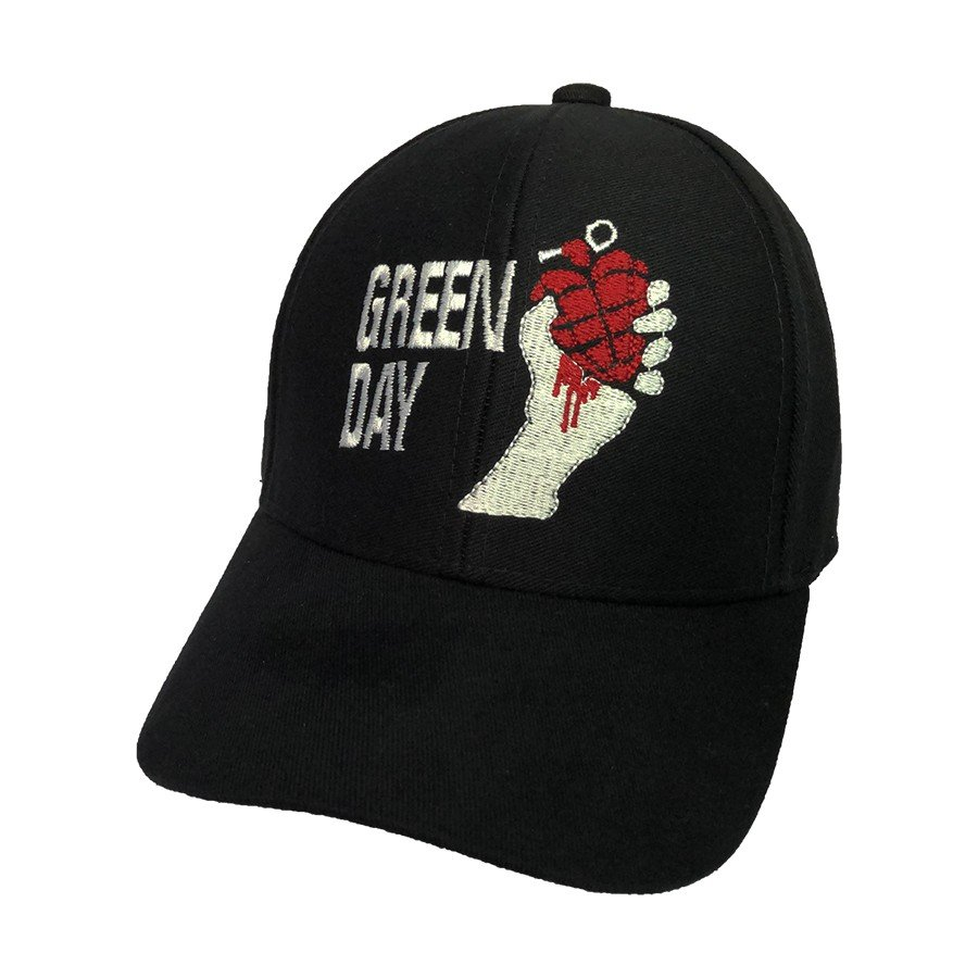bone green day logo granada bordado bn78