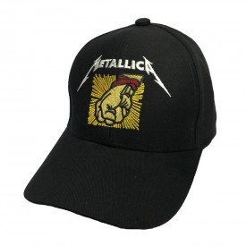 bone metallica st anger preto bn34