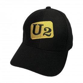 bone u2 logo dourado 100 algodao bn59