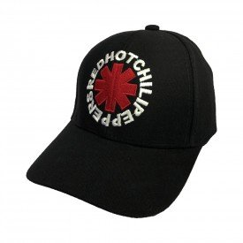 bone red hot chili peppers logo regulagem com velcro bn63