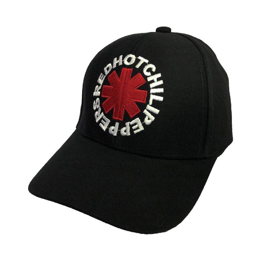 bone red hot chili peppers logo regulagem com velcro bn63