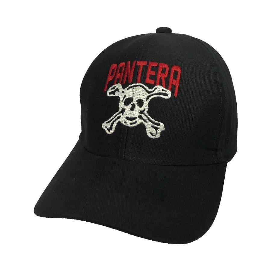 bone pantera logo morte regulagem com velcro bn70