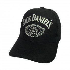 bone jack daniels logo preto bn21
