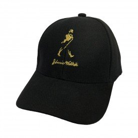 bone johnny walker logo regulagem com velcro bn25