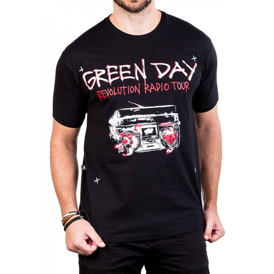 camisetas green day revolution radio gola c elastano 2815 1