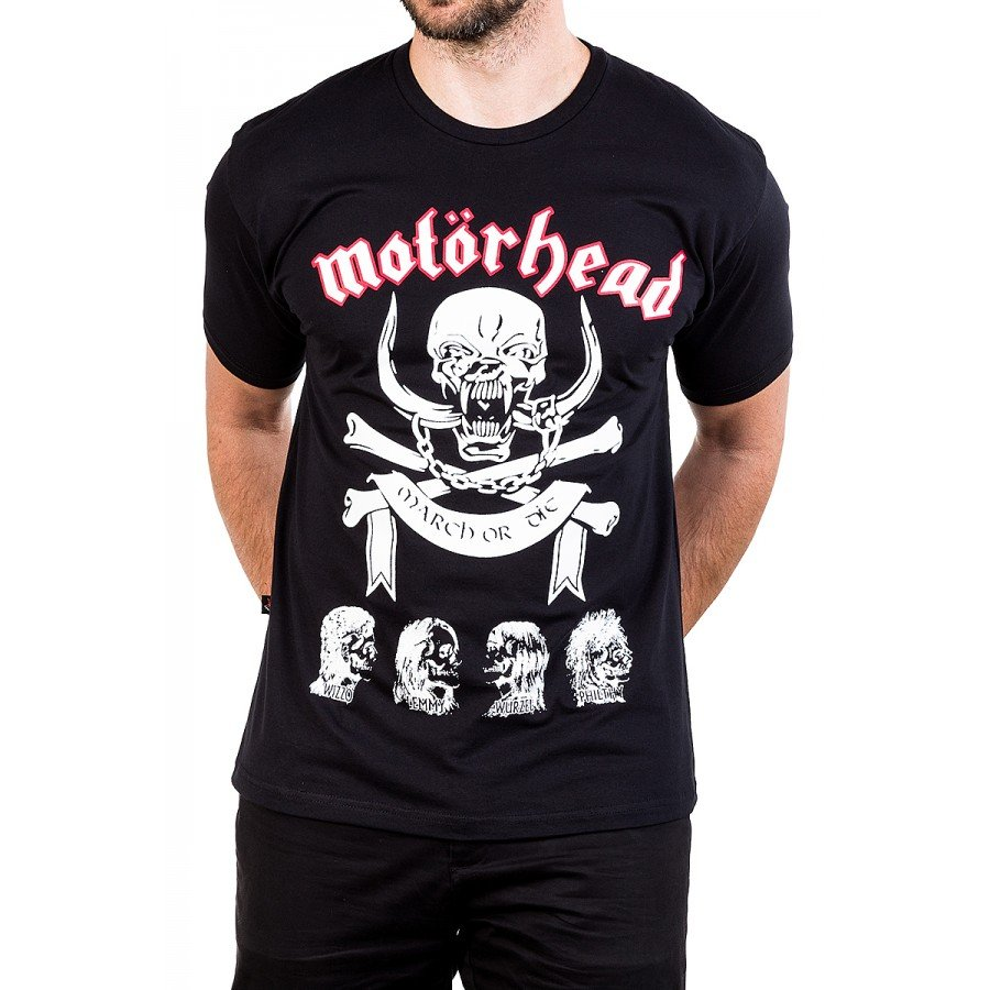 camiseta motorhead march or die reforco de ombro a ombro 158 3