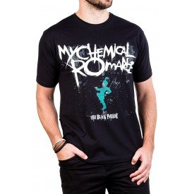 camiseta my chemical romance the black parade gola c elastano 276 3