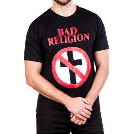 camiseta bad religion logo album 100 algodao 2545 1