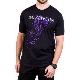camiseta led zeppelin escada gola redonda 375 4